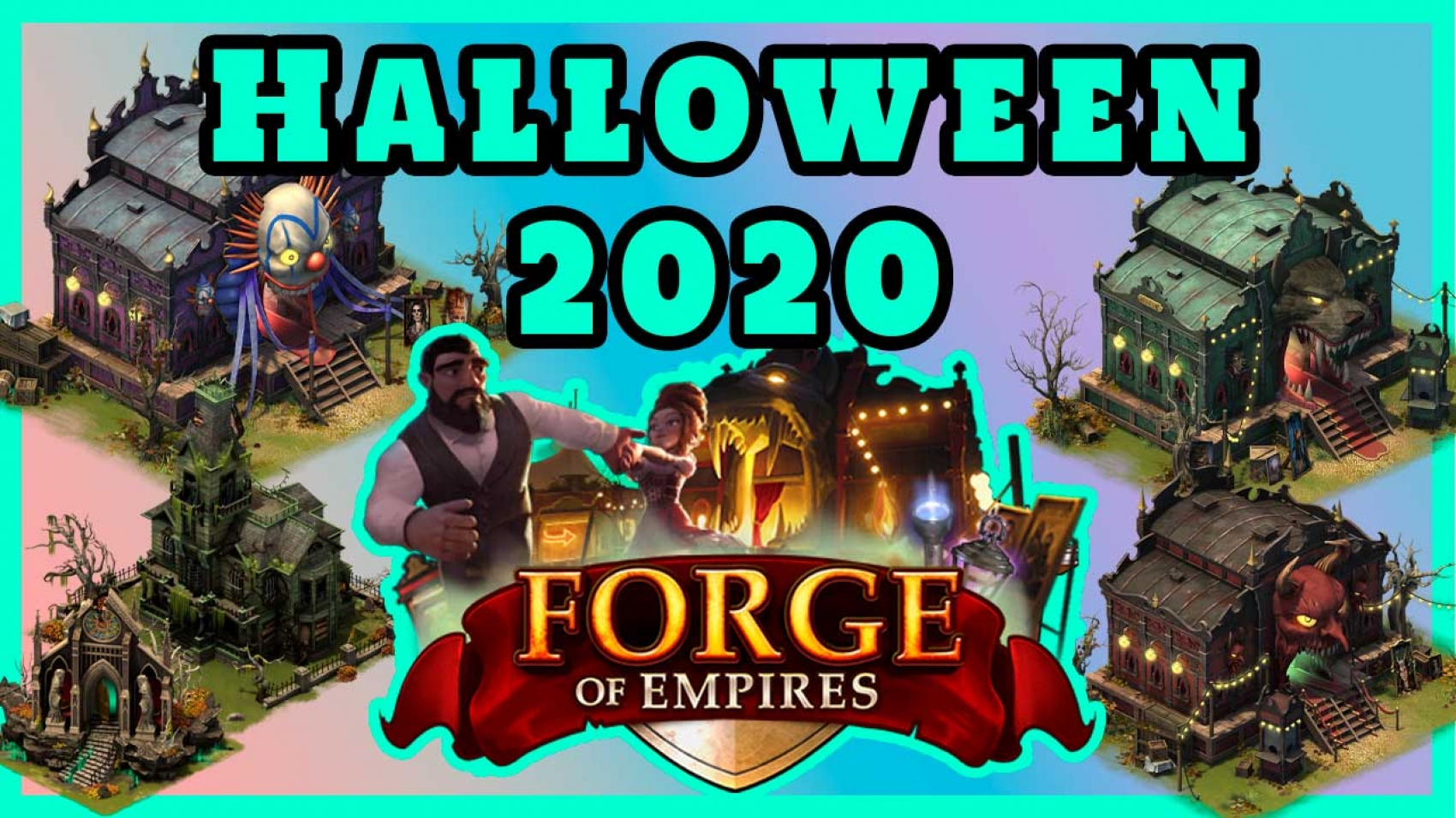 forge of empires halloween 2020