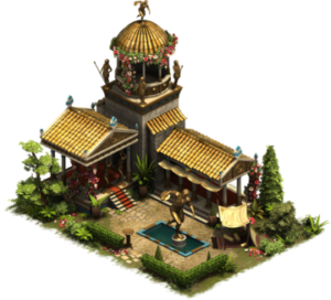 Athlete Living Quarters forge of empires