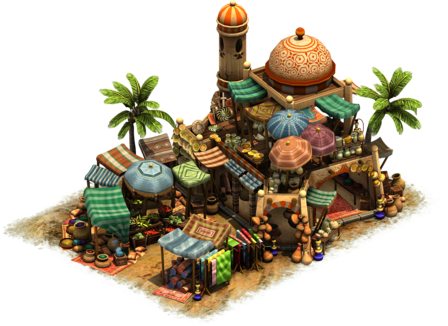 bazaar forge of empires