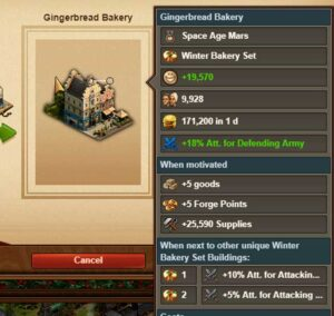 winter bakery forge of empires
